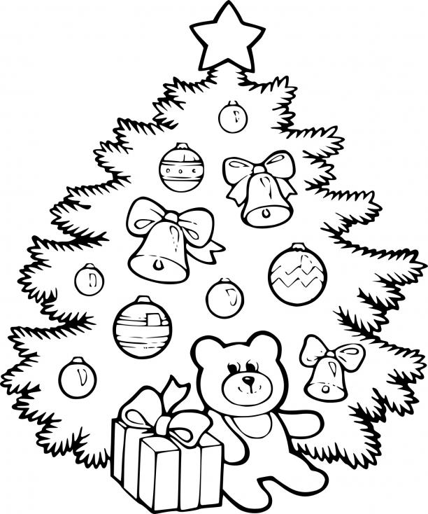 Ours en peluche à Noël
