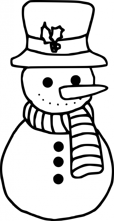 Bonhomme de neige facile