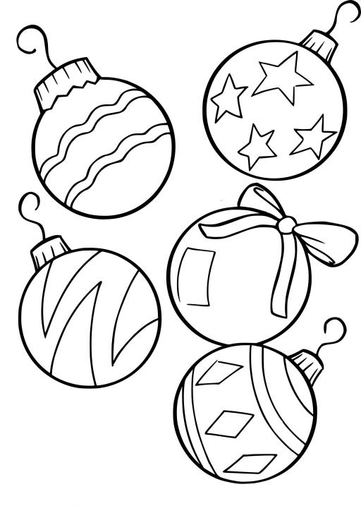 Boules sapin de Noël