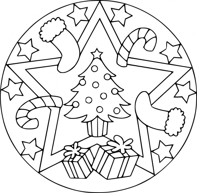 Noël mandala