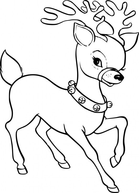 Un renne de Noël