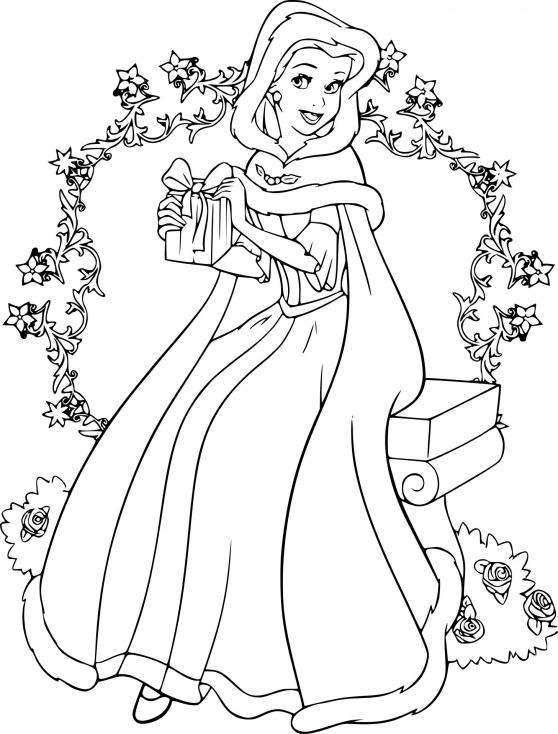 Belle et la Bête à Noël