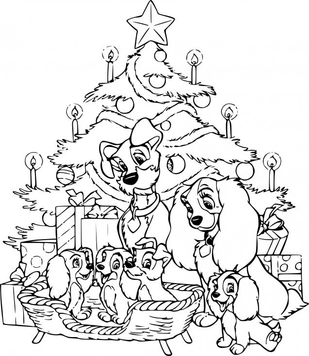 Belle et le Clochard à Noël