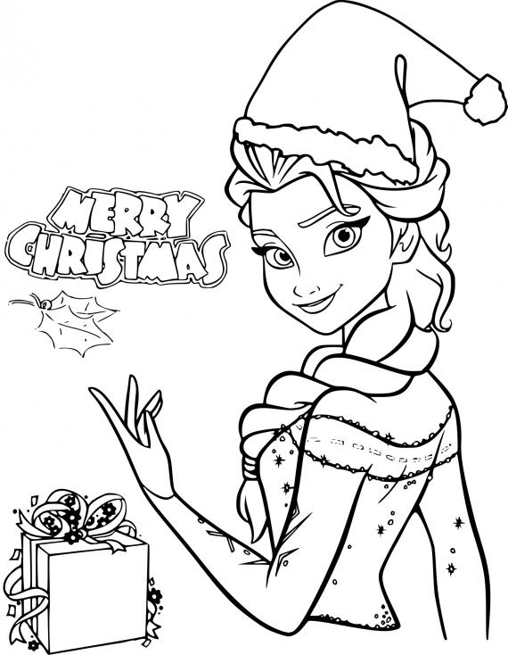 La reine des neiges à Noël