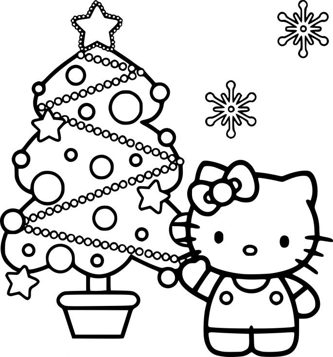Noël pour Hello Kitty