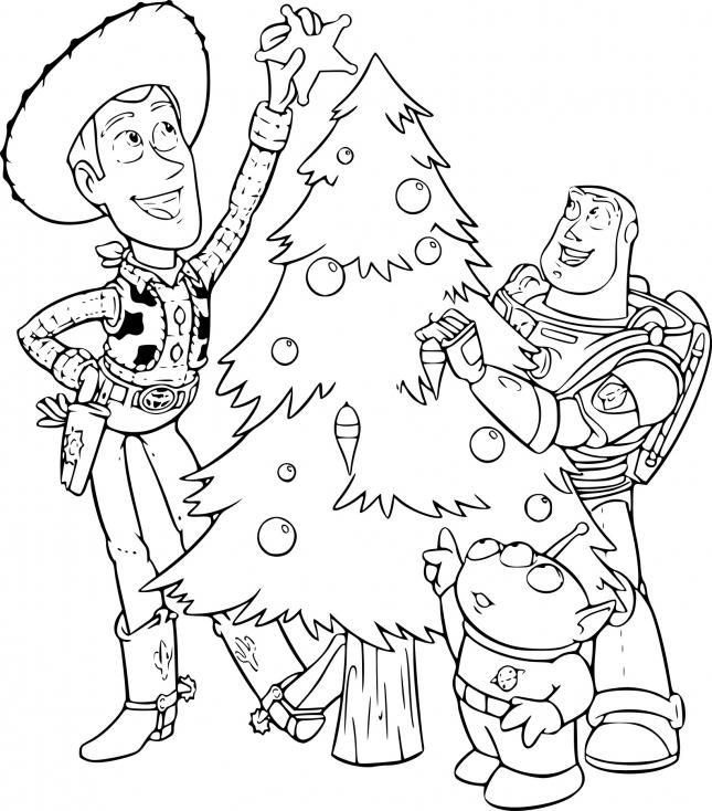 Toy Story à Noël